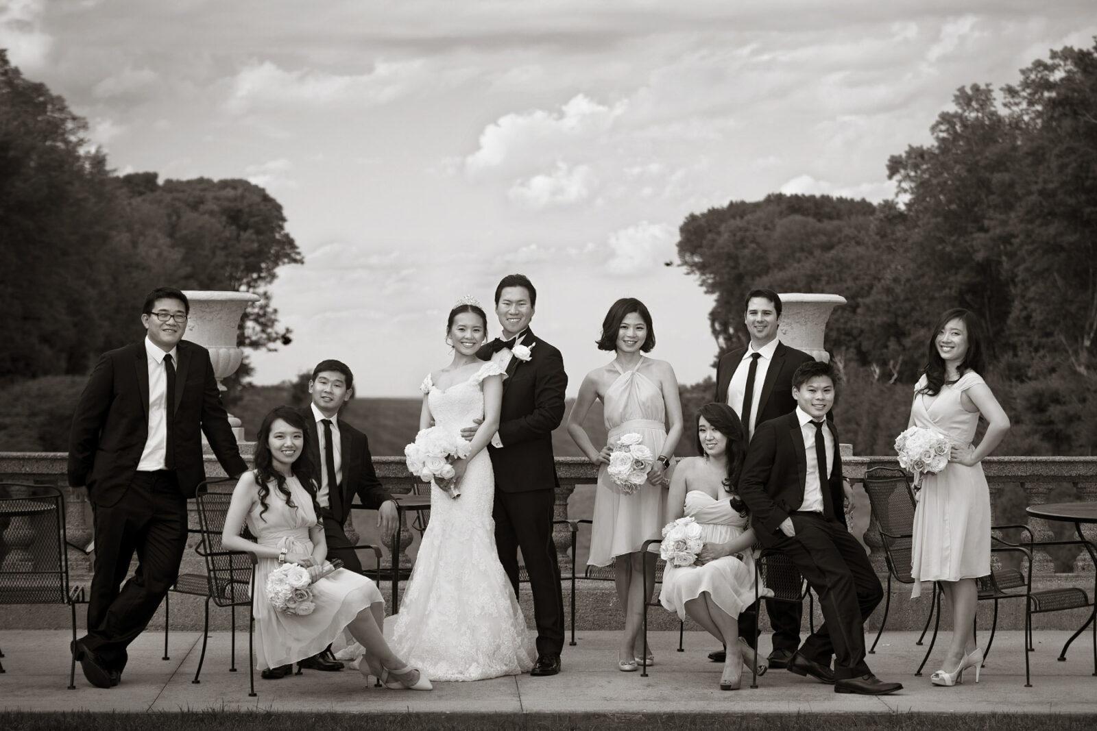 FUN WEDDING AT THE CRANE ESTATE WEDDING IPSWICH, MA